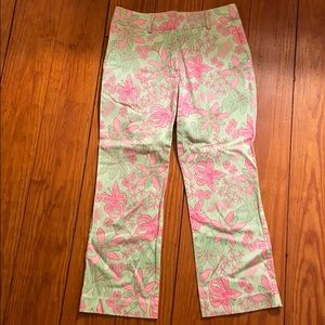 Lilly Pulitzer summer cropped pant